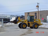 Massachusetts commercial plowing