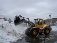 Example  -Tompkins Corporation Snow Removal | Plowed Streets