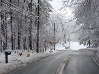 Example  -Tompkins Corporation Snow Removal | Ice Damming Solutions