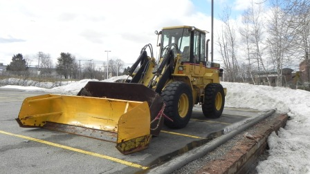 Example  -snow removal, snow plow